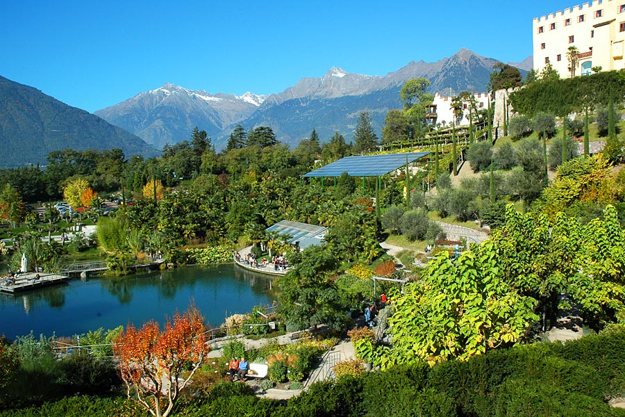 Trauttmansdorff: Botanische Gärten Meran - Urlaub in Südtirol