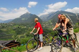 Radwandern in Südtirol mit der Familie