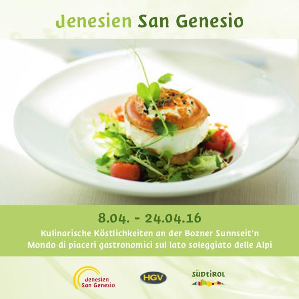 Kulinarische Wochen Jenesien