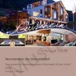 Muster Hotelgutschein Kirchsteiger Völlan