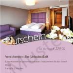 Muster Hotelgutschein Sunnwies in Schenna
